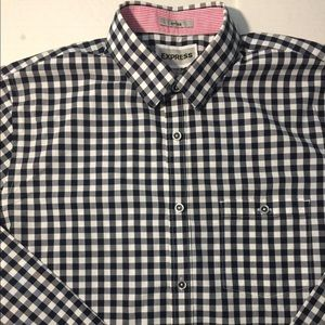 Express Button Down Long Shirt